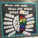 Growth Mindset: Change Your Words Bulletin Board Set - Editable