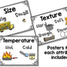 Sorting by Properties - Size, Texture, Color, Shape, Weight