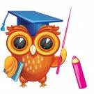 Owl Themed Alphabet Match Activity Set
