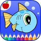 Ocean Animals Coloring Book