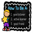 How to Be a Good Listener Posters