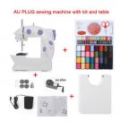 AU Plug Sewing Machines Sewing Kit extension Table Portable Handheld Sewing Machine Electric