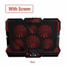 17inch Gaming Laptop Cooler Six Fan Led Screen Two USB Port GAMING LAPTOP COOLING STAND