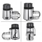 Temperature Controlled Stainless Steel Alcohol Purifier Filter Glass Jar 4L Water Distiller