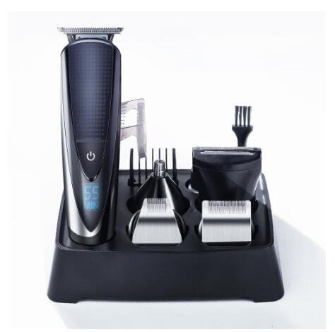 Hair Clipper Rechargeable Electric Razor 5 In 1 Hair Trimmer Men Hair Cutting Machine Beard Trimer