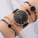 5pcs Fashion Women's Luxury watches