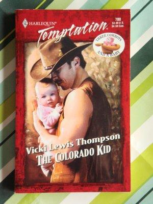 The Colorado Kid by Vicki Lewis Thompson a Harlequin Temptation novel