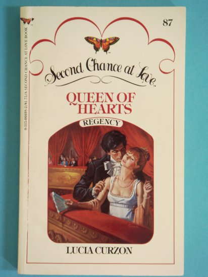 Queen of Hearths by Lucia Curzon aka Florence Stevenson Second Chance at Love No. 87