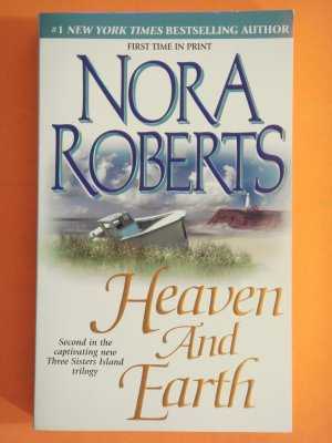 Heaven And Earth by Nora Roberts first edition Three Sisters Island triology book 2