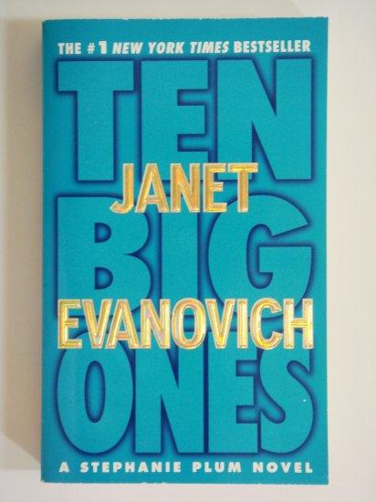 Ten Big Ones by Janet Evanovich a Stephanie Plum series book 11 mystery adventure novel