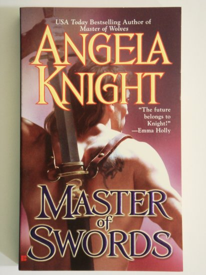 Master Of Swords by Angela Night paranormal fantasy romance