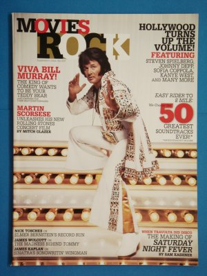 Movies Rock Allure Magazine Fall 2007 Supplement with Bill Murray on cover