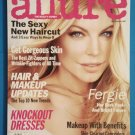 Allure Magazine December 2007 Issue with Fergie on the cover