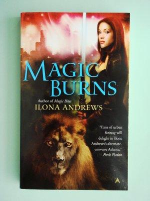 Magic Burns by Ilona Andrews Kate Daniels series paranormal mystery urban fantasy
