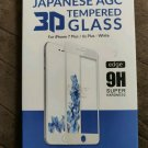 IKON Japanese AGC 3D tempered glsss for the iPhone 7 plus/6S plus-white