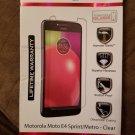 Znitro tempered glass screen protector Motorola Moto E4 clear