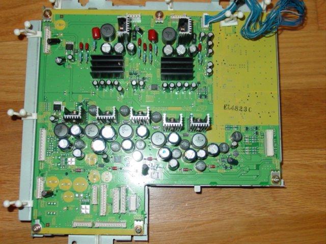 Panasonic Plasma TV - PA BOARD TNPA3266 // Models: TH-42PD25 & TH-37PD25