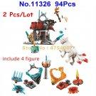 11326 94pcs ninja lloyd's journey figure bela building blocks 4 figures 70671 Toy
