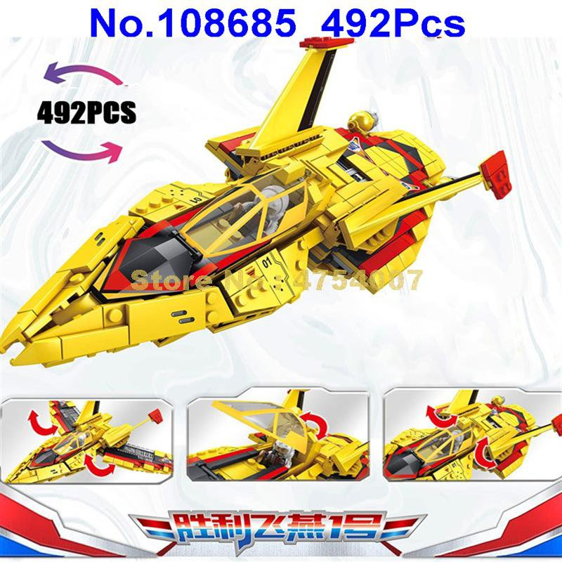 108685 492pcs ultraman tiga guts wing 1 fighter madoka daigo /nanase rena 4 figures