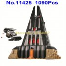 11425 1090pcs starwars vader castle 5 figures bela building blocks 75251 Toy