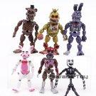 Five Nights at Freddy's Nightmare Freddy Chica Bonnie Funtime Foxy 6pcs/set