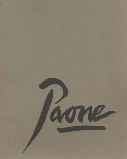 Peter Paone: A Decade of Prints 1989-2000