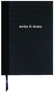 SALE - Basic Black Luxe Journal