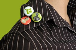 JCM One-inch Buttons (various designs)