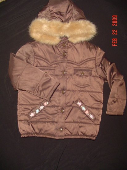 NWOT~GYMBOREE~PARK CITY LUXE~ JACKET~COAT~PUFF~SZ 6