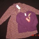 NWT~GYMBOREE~AUTUMN HIGHLAND~CORDUROY~DRESS 6~SWEATER 5