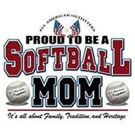 Proud to be a Softball Mom