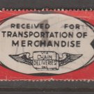USA - Chain Deliveries - Local Post Parcels 1935ish Stamp T1 Minor Faults as seen