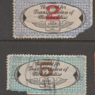 USA - Chain Deliveries - Local Post Parcels 1935ish Stamp T11 MAJOR Faults as seen