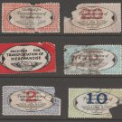 USA - Chain Deliveries - Local Post Parcels 1935ish Stamp T12 MAJOR Faults as seen