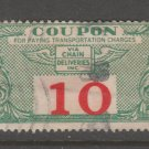 USA - Chain Deliveries - Local Post Parcels 1935ish Stamp T31