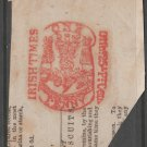 UK Ireland revenue Fiscal stamp 10-15-20-28