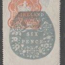 UK Ireland revenue Fiscal stamp 10-15-20-25
