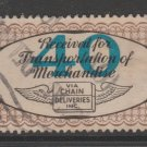 USA - Chain Deliveries - Local Post Parcels 1935ish Stamp- nice 10-22c-20-18