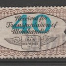 USA - Chain Deliveries - Local Post Parcels 1935ish Stamp- nice 10-22c-20-19