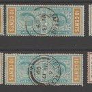 UK Colonies Ceylon Telegraph revenue Fiscal stamp 10-23-20-23