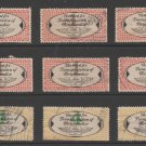 USA - Chain Deliveries - Local Post Parcels 1935ish Stamp- nice 10-23-20-25