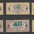 USA - Chain Deliveries - Local Post Parcels 1935ish Stamp- nice 10-23-20-26