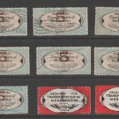 USA - Chain Deliveries - Local Post Parcels 1935ish Stamp- nice 10-23-20-29