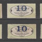 USA - Chain Deliveries - Local Post Parcels 1935ish Stamp- nice 10-23-20-30