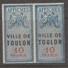 France revenue Fiscal stamp 10-28-20 mnh gum