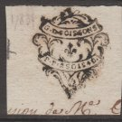 France revenue Fiscal stamp 10-28-20 OLD 1700's
