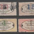 USA - Chain Deliveries - Local Post Parcels 1935ish Stamp- FAULTY as Seen 11-5-20