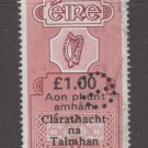 Ireland UK  revenue Fiscal stamp 11-12-20-8e