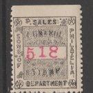 Famous Pre 1900 Stamp Association MNH Gum Cinderella 8-7-20 Member stamp? -7b