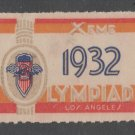 USA Olympics 1932 Los Angeles Games 11-18-20-3a